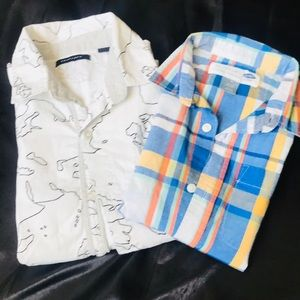 Short Sleeve Button Down Shirts. For Boy